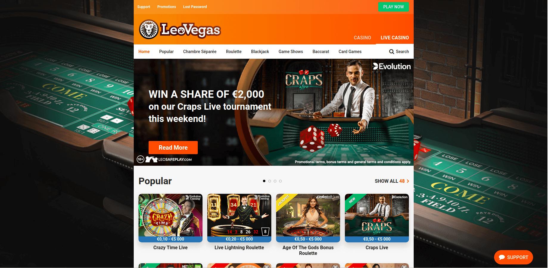 leovegas-live