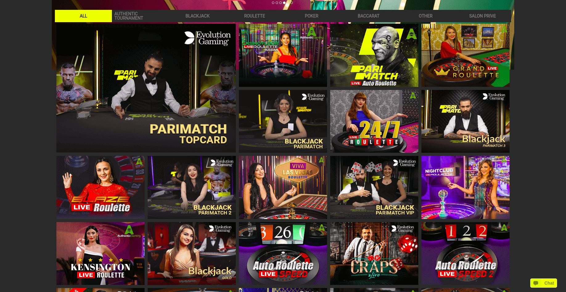 parimatch-live