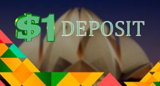 $1 minimum deposit online casinos in India